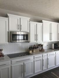 Fancy White Kitchen Cabinets Ideas To Try Asap 33