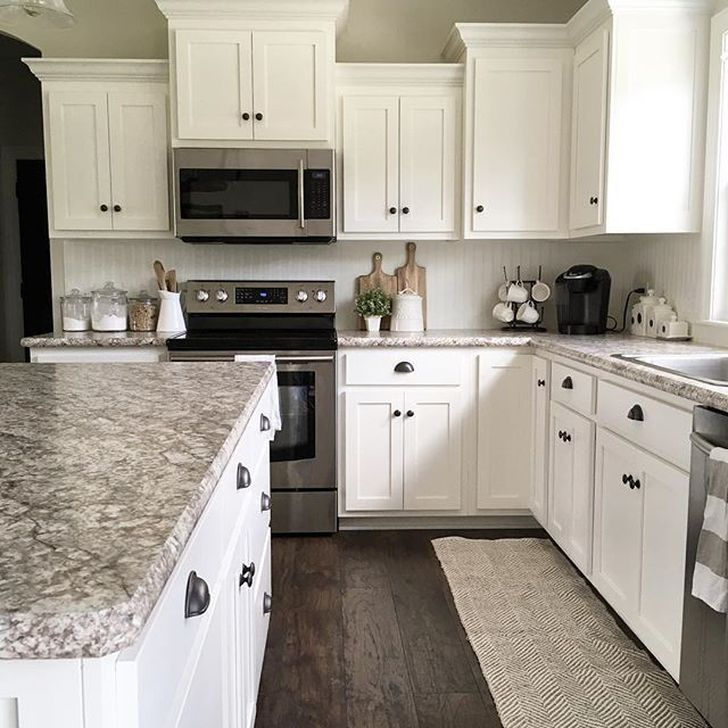 Fancy White Kitchen Cabinets Ideas To Try Asap 36