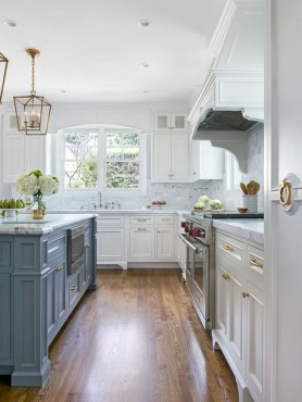 Gorgeous Blue And White Kitchen Design Ideas To Try 06