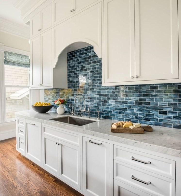 Gorgeous Blue And White Kitchen Design Ideas To Try 09