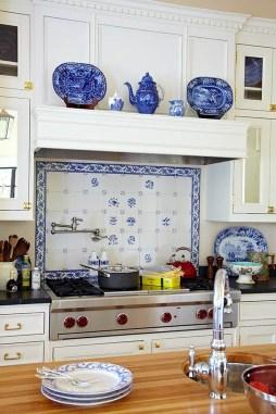 Gorgeous Blue And White Kitchen Design Ideas To Try 19
