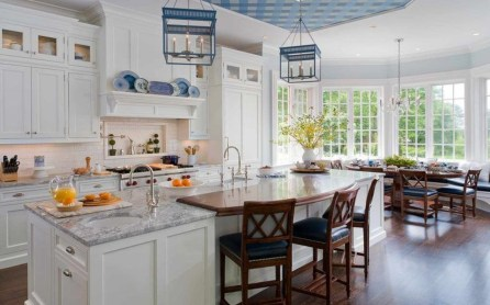 Gorgeous Blue And White Kitchen Design Ideas To Try 27