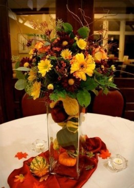 Magnificient Fall Wedding Centerpieces Ideas To Copy Asap 31