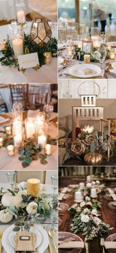 Magnificient Fall Wedding Centerpieces Ideas To Copy Asap 32