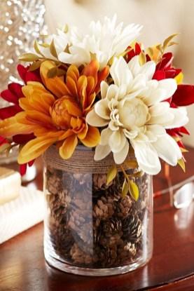 Rustic Diy Fall Centerpiece Ideas For Your Home Décor 05