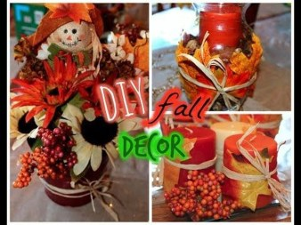 Rustic Diy Fall Centerpiece Ideas For Your Home Décor 17