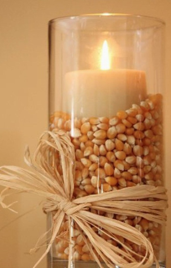 Rustic Diy Fall Centerpiece Ideas For Your Home Décor 34