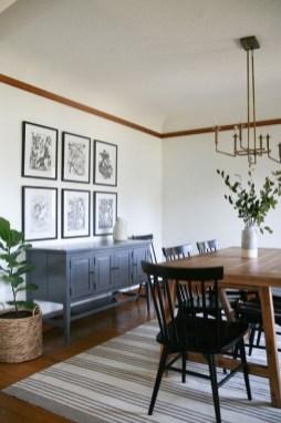 Unusual Traditional Dining Room Design Ideas That Looks Elegant 09