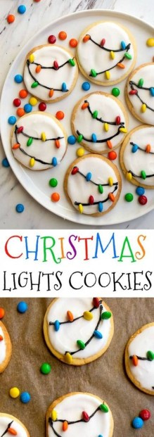 Adorable Diy Christmas Lights Cookies Ideas For Your Décor That Looks Cool32