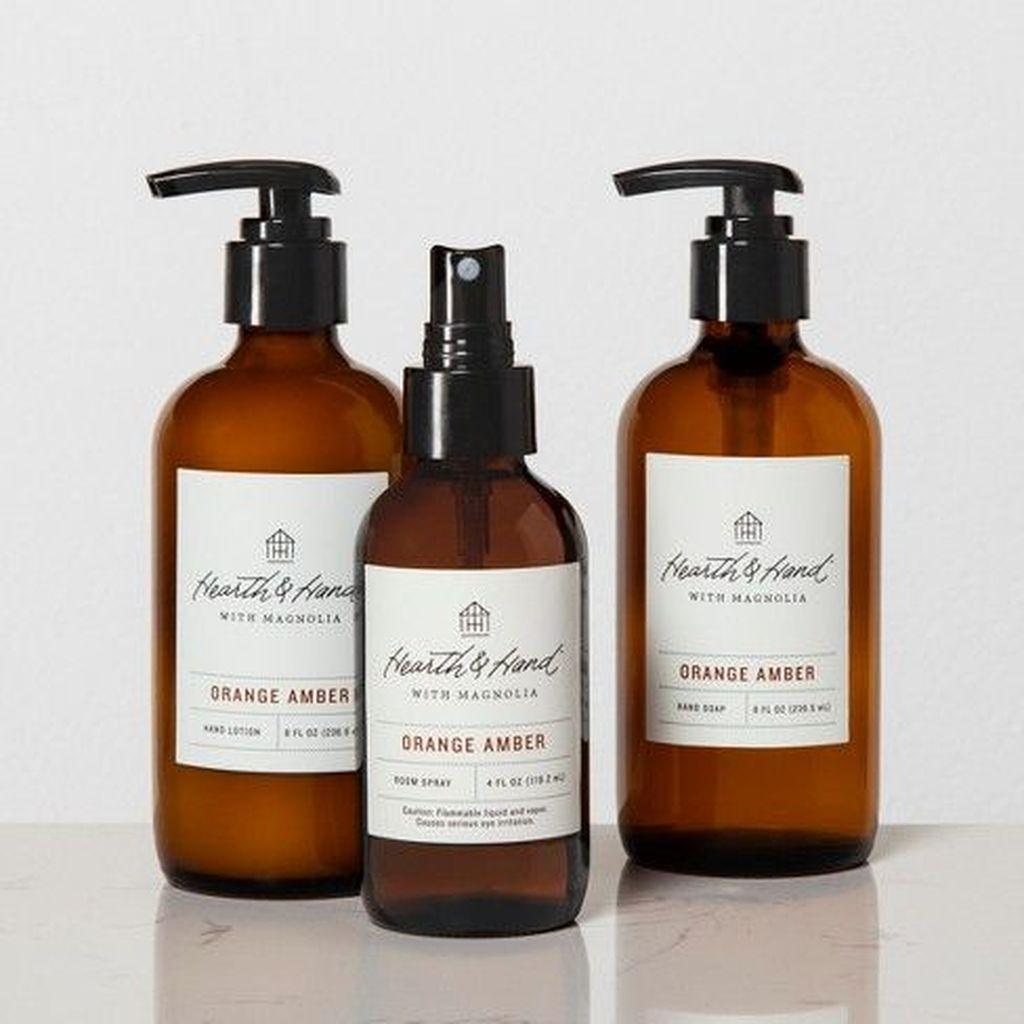 Affordable Diy Organization Bathroom Design Ideas For Bottle And Towel Labels14