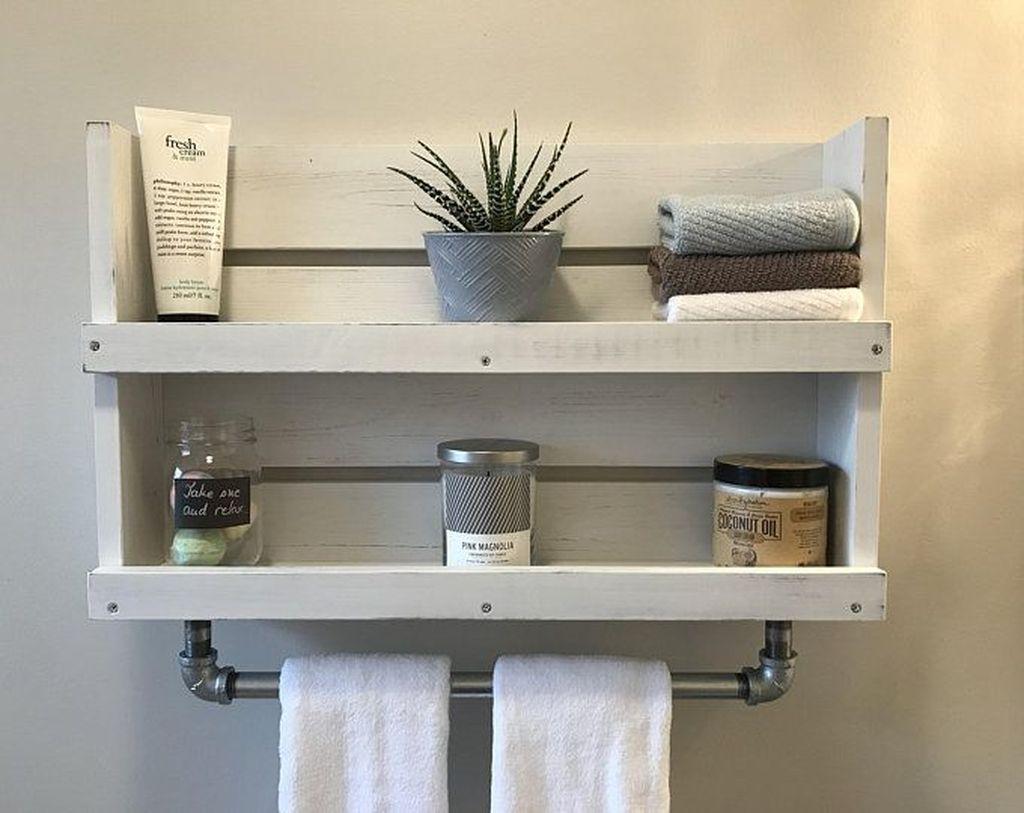Affordable Diy Organization Bathroom Design Ideas For Bottle And Towel Labels26