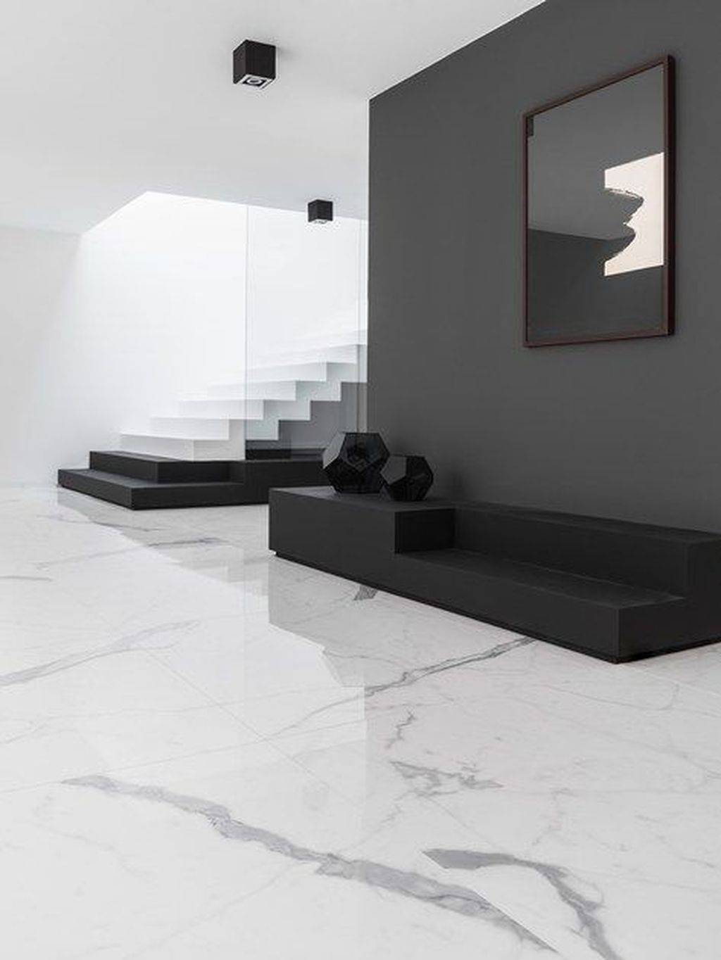 Affordable Marble Tiles Design Ideas In The Wooden Floor08