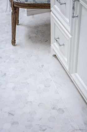 Affordable Marble Tiles Design Ideas In The Wooden Floor39