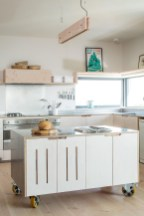 Amazing Scandinavian Kitchen Design Ideas With Island And Cabinets To Try01