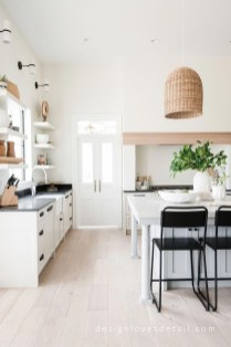 Amazing Scandinavian Kitchen Design Ideas With Island And Cabinets To Try19
