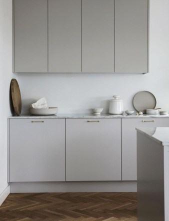 Amazing Scandinavian Kitchen Design Ideas With Island And Cabinets To Try35
