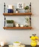 Awesome Diy Turnbuckle Shelf Ideas To Beautify Interior Decor03