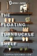 Awesome Diy Turnbuckle Shelf Ideas To Beautify Interior Decor14