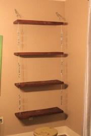 Awesome Diy Turnbuckle Shelf Ideas To Beautify Interior Decor20