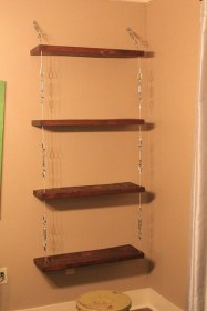 Awesome Diy Turnbuckle Shelf Ideas To Beautify Interior Decor20
