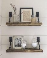 Awesome Diy Turnbuckle Shelf Ideas To Beautify Interior Decor26