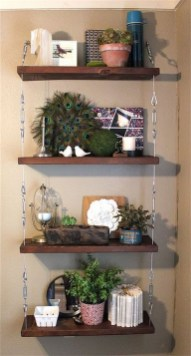 Awesome Diy Turnbuckle Shelf Ideas To Beautify Interior Decor31