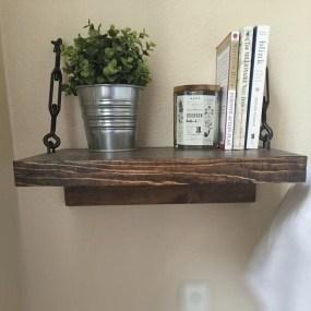 Awesome Diy Turnbuckle Shelf Ideas To Beautify Interior Decor32