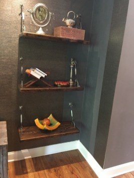Awesome Diy Turnbuckle Shelf Ideas To Beautify Interior Decor33