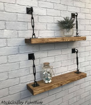 Awesome Diy Turnbuckle Shelf Ideas To Beautify Interior Decor34
