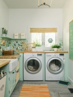 Awesome Laundry And Clothesline Design Ideas To Copy Right Now04