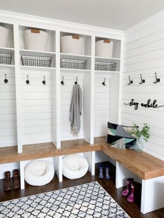 Delightful Mudroom Storage Design Ideas To Have Soon01