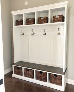 Delightful Mudroom Storage Design Ideas To Have Soon18