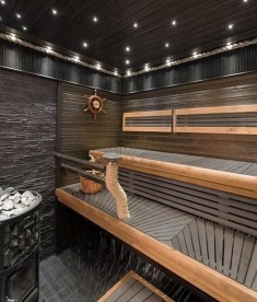 Excellent Palette Sauna Room Design Ideas For Winter Decoration To Try36