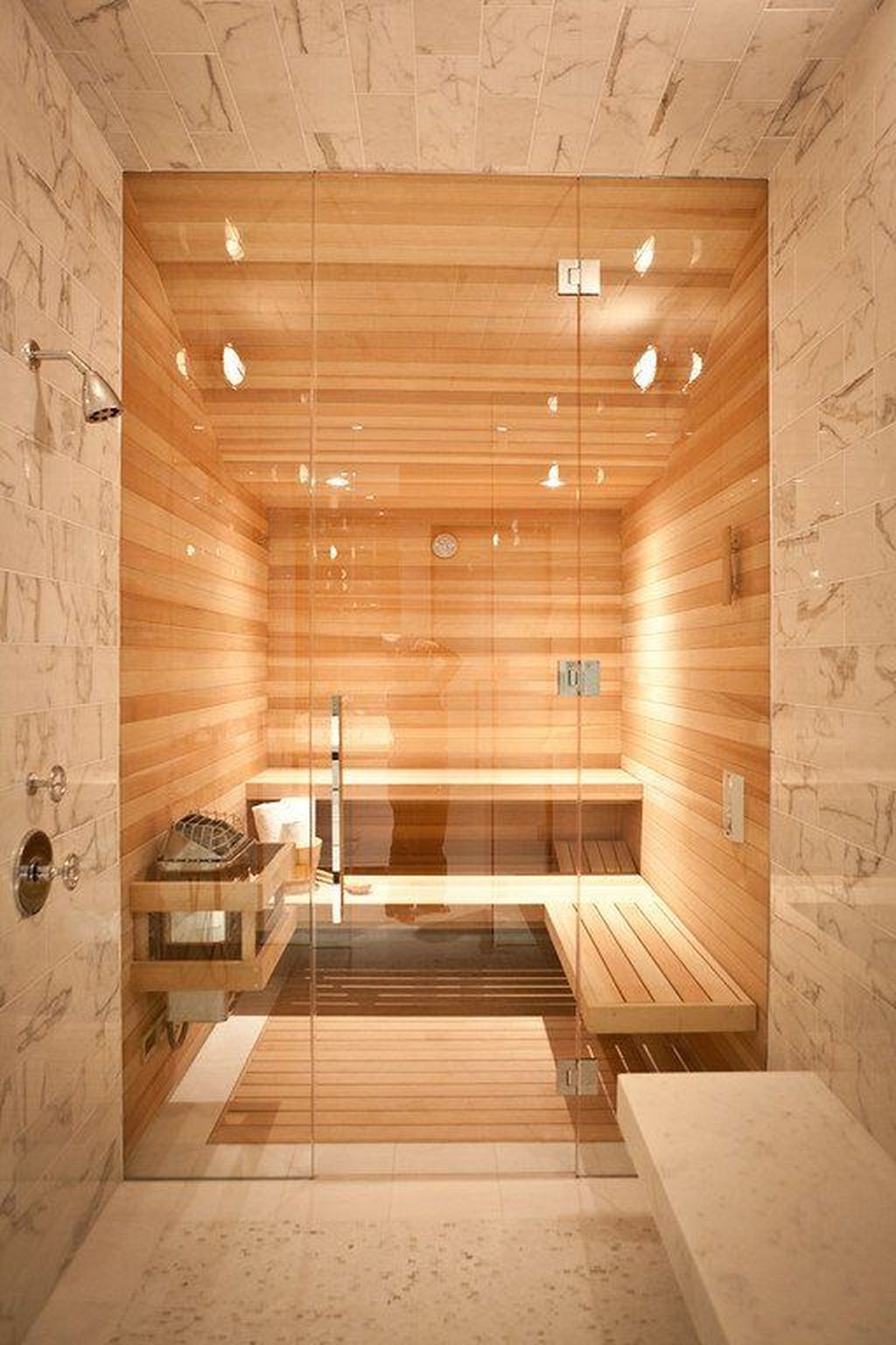 Excellent Palette Sauna Room Design Ideas For Winter Decoration To Try37