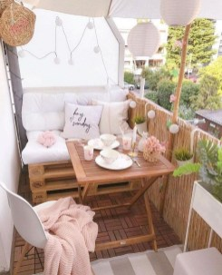Impressive Fall Apartment Balcony Decorating Ideas To Try13