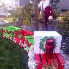 Spectacular Lawn Design Ideas For Christmas This Year To Try Soon32