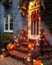 Unique Halloween Porch Ideas On A Budget36