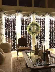 Astonishing Holiday Decorating Ideas With Lights To Try This Season 19