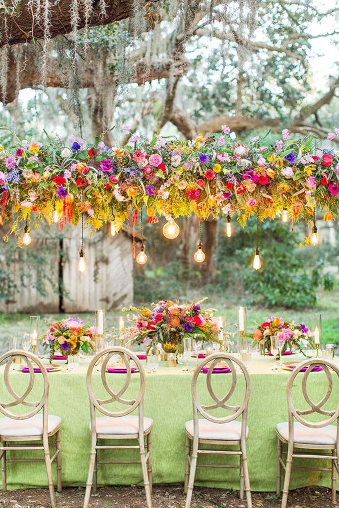 Attractive Summer Wedding Decor For Outdoor Ideas To Try Asap 38