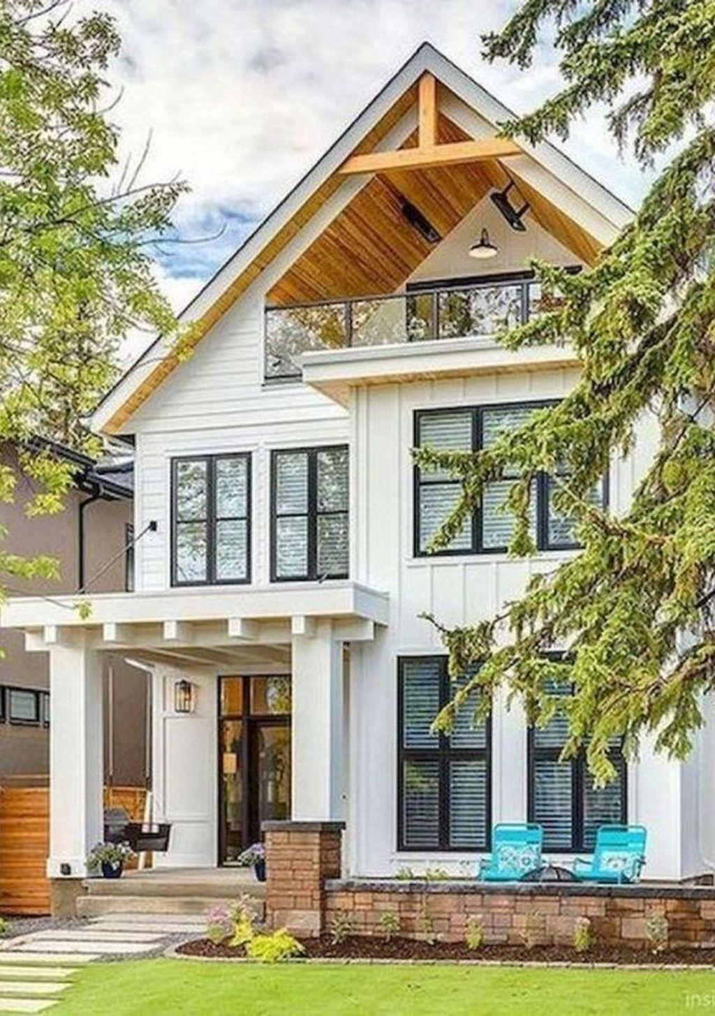 Captivating Farmhouse Exterior House Design Ideas To Copy Right Now 33