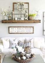 Casual Diy Farmhouse Wall Decorations Ideas On A Budget 01