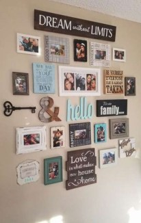 Casual Diy Farmhouse Wall Decorations Ideas On A Budget 11