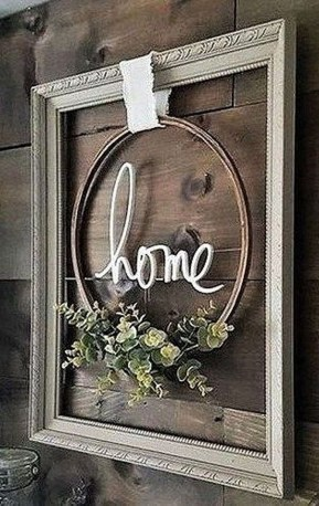 Casual Diy Farmhouse Wall Decorations Ideas On A Budget 12
