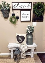 Casual Diy Farmhouse Wall Decorations Ideas On A Budget 29