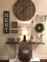 Casual Diy Farmhouse Wall Decorations Ideas On A Budget 35