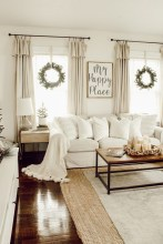 Comfy Farmhouse Living Room Decor Ideas That Make You Feel In Village 03