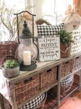 Cozy Farmhouse Home Decor Ideas To Get A Past Impression 29