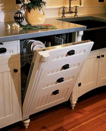 Fascinating Kitchen Design Ideas With Victorian Style 35