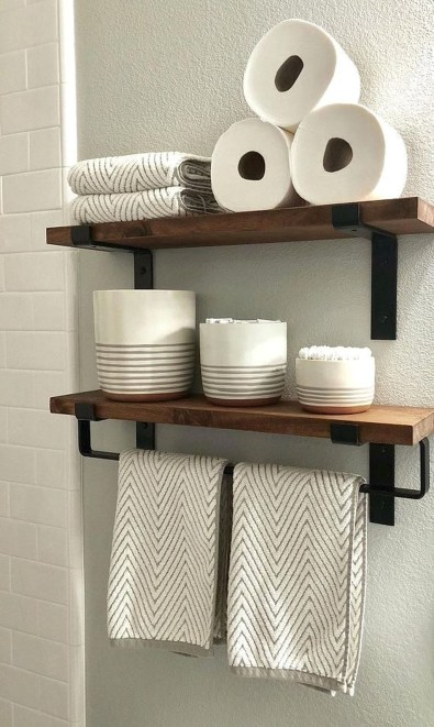 Impressive Bathroom Organization Ideas For Your First Apartment In College 34