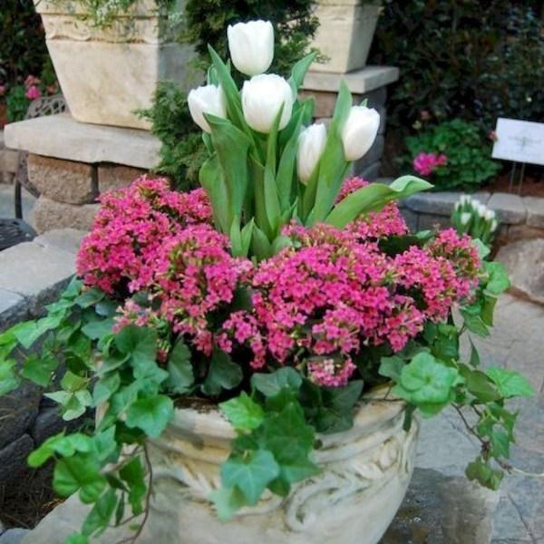 Impressive Summer Planter Design Ideas For Front Yard Decoration 39